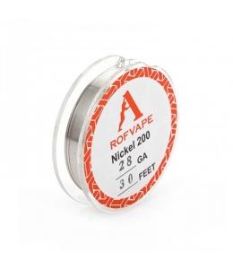 Nickel Ni200 0.32 mm 28GA Fil non résistif Rofvape