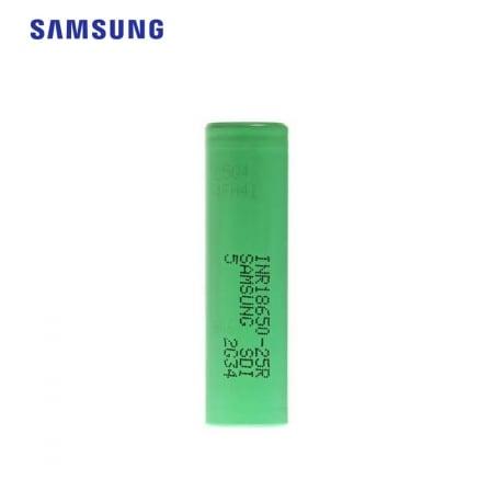 INR 25R 18650 2500 mAh 35A Samsung