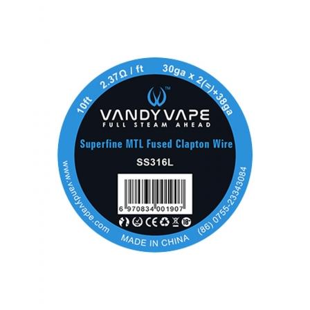 Superfine MTL Wire Vandy Vape