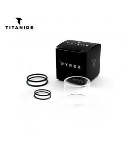 Tube Pyrex Tank Remplacement Leto RTA 24 Titanide