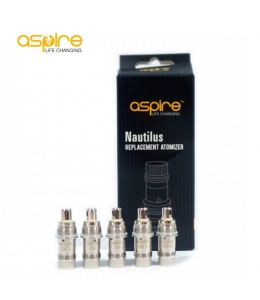Lot de 5 résistances Aspire Mini Nautilus