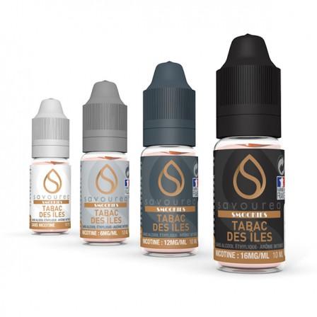 E-liquide Tabac des îles SAVOUREA