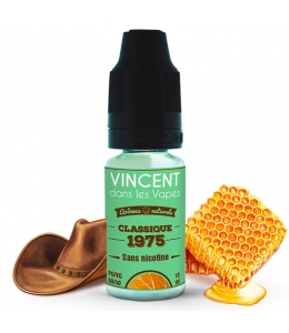 E liquide Classic 1975 VDLV | Tabac Blond Miel