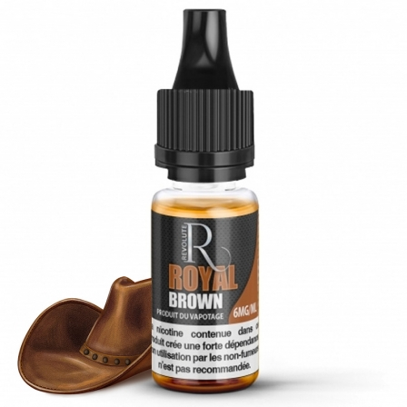 E liquide Classic Royal Brown Revolute | Tabac brun