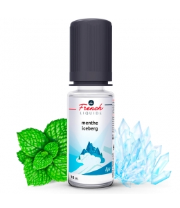 E liquide Menthe Iceberg Sensation Le French Liquide | Menthe Xtra Fresh