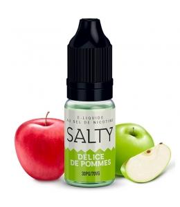 E liquide Délice de Pommes Salty   Sel de Nicotine