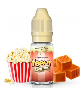 E liquide Loly Pop feevr | Pop-corn Caramel