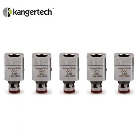 Pack 5 Résistances / mèches pour Subtank Kanger Tech