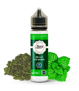 E liquide Thé vert menthe Tasty Collection 50ml