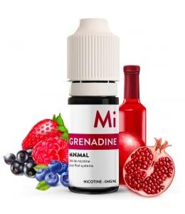 E liquide Grenadine MiNiMAL | Sel de Nicotine