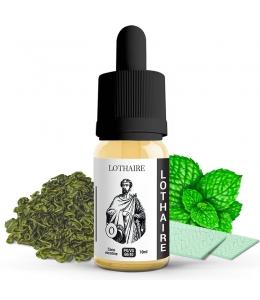 E liquide Lothaire 814   Thé menthe Chewing gum Chlorophylle Menthe glaciale