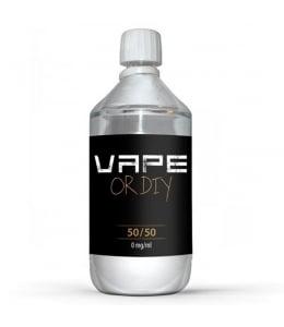 Base DIY 50/50 Vape Or DiY  1 litre