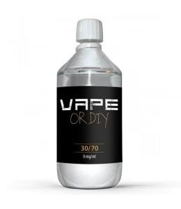 Base DIY 30/70 Vape Or DiY  1 litre