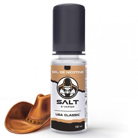 E liquide USA Classic Salt E-Vapor | Sel de Nicotine