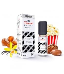 E liquide Jus de Boudin Noir Le French Liquide | Vanille Noisette Noix de pécan Pop corn