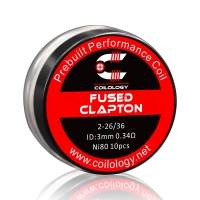 Pack 10 Fused Clapton Coilology