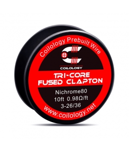 Tri-Core Fused Clapton Coilology