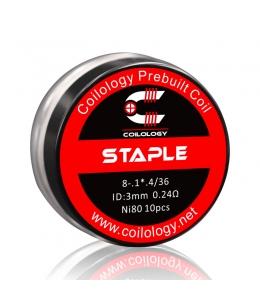Résistance Pack 10 Staple Coilology