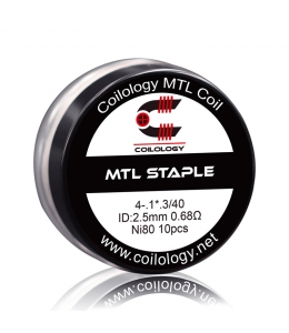 Résistance Pack 10 MTL Staple Coilology