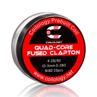 Pack 10 Quad-Core Fused Clapton Coilology