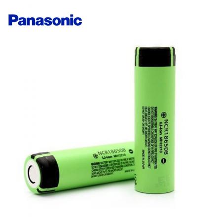 Accu NCR18650B 3400mAh Panasonic - Pôle positif plat
