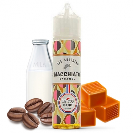 E liquide Macchiato caramel Le Coq Qui Vape 50ml