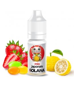 E liquide Mix Japonais Solana | Bonbon Fraise Yuzu