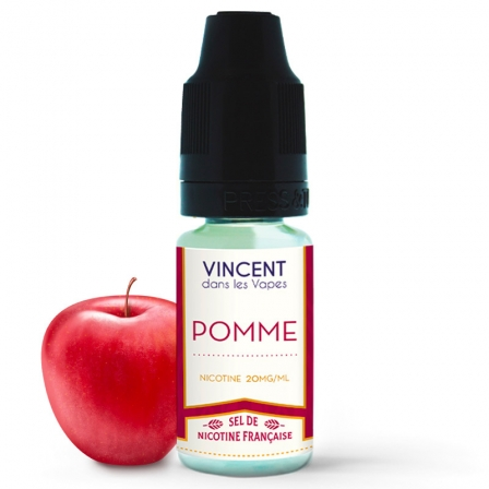 E liquide Pomme Sels de nicotine VDLV   Sel de Nicotine