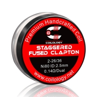 Résistance Pack 2 Handcrafted Staggered Fused Clapton Coilology