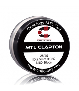 Pack 10 MTL Clapton Coilology