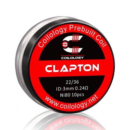 Résistance Pack 10 Clapton Coilology