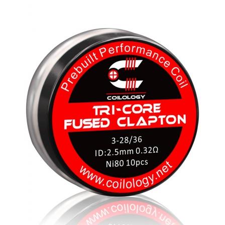 Résistance Pack 10 Tri-Core Fused Clapton Coilology
