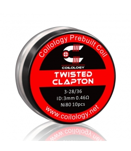 Pack 10 Twisted Clapton Coilology