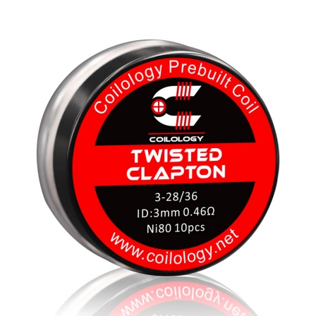 Résistance Pack 10 Twisted Clapton Coilology