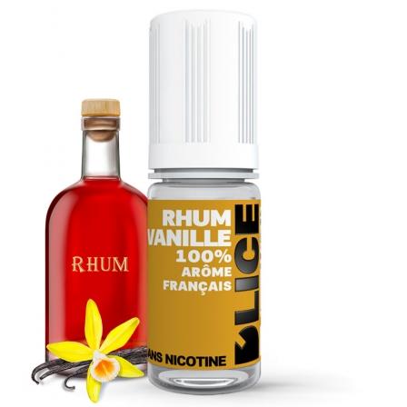 E liquide Rhum Vanille D'LICE | Rhum Vanille