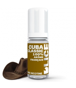 E liquide Cuba Classic D'LICE | Tabac Cubain