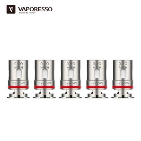 Résistances EUC Veco Tank Vaporesso (X5)
