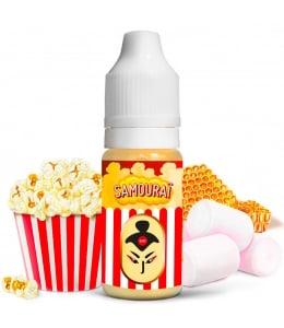 E liquide Samouraï Classique Le Coq Qui Vape | Pop Corn Caramel Marshmallows Miel