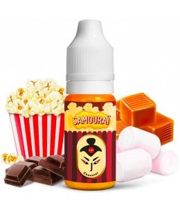 E liquide Samouraï Chocolat Le Coq Qui Vape | Pop Corn Caramel Marshmallows Chocolat