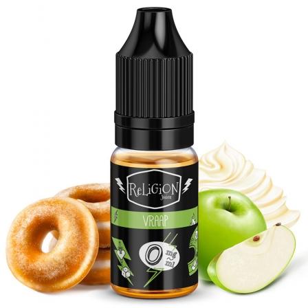 E liquide Vraap Religion Juice | Beignet Pomme Crème