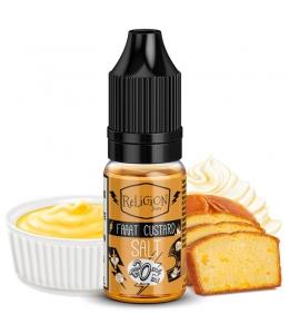 E liquide Faaat Custard Salt Religion Juice | Sel de Nicotine