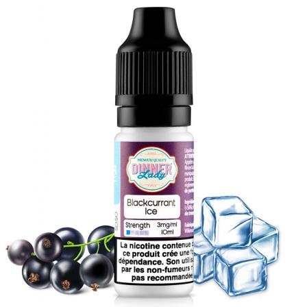 E liquide Blackcurrant Ice Dinner Lady | Cassis Frais