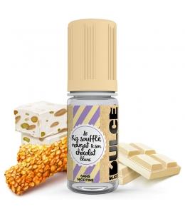 E liquide Le Riz Soufflé Nougat & Son Chocolat Blanc Dulce | Riz soufflé Nougat Chocolat