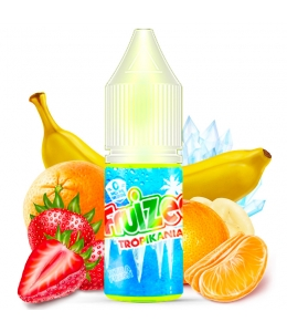 E liquide Tropikania Fruizee | Fraise Orange Banane Mandarine Xtra fresh
