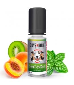 E liquide Sweet Garden Guys & Bull | Kiwi Pêche Basilic