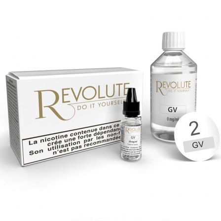 Pack 100 ml Base DIY 100VG Revolute