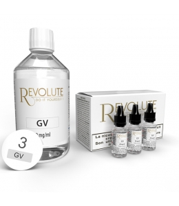 Pack 200 ml Base DIY 100VG Revolute