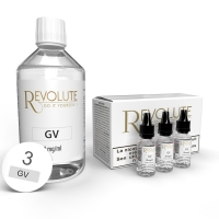Pack 200 ml Base DIY 100VG Revolute
