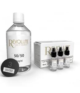 Pack 200 ml Base DIY 50/50 Revolute