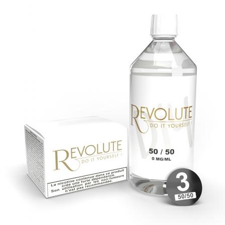 Pack litre Base DIY 50/50 Revolute